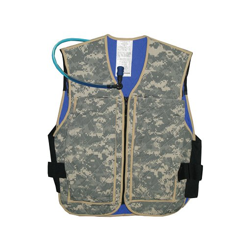Techniche Military Hybrid Evaporative Cooling Vests Include one (1) set of Phase Change Cooling Military Inserts (7065) and Hydration Reservoir (6660)